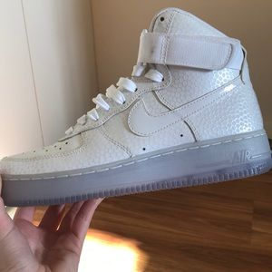 Women's Nike Air Force 1 High PRM Pearl